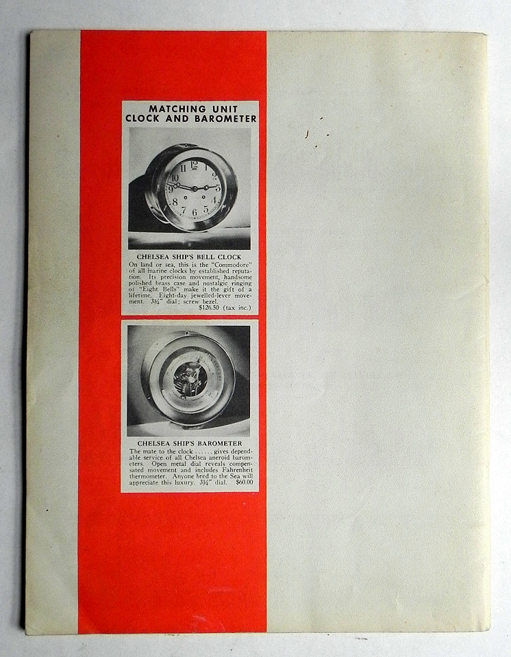 1958 Catalog Scale Models Of Ships Miniature Gas Steam Engines Bliss